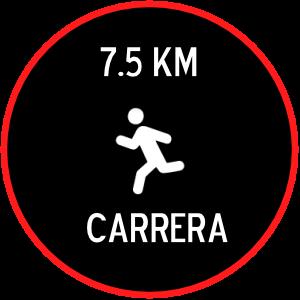 7.5KM CARRERA