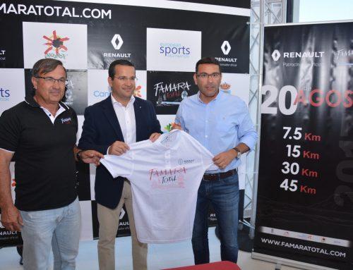 El Ayuntamiento de Teguise y  Juan Toledo S.L. sellan el convenio de patrocinio de Renault Famara Total 2017