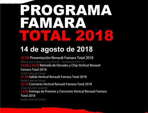 "The Renault Group Juan Toledo facilities will host tomorrow Tuesday the official presentation of the ""Renault Famara Total 2018""."