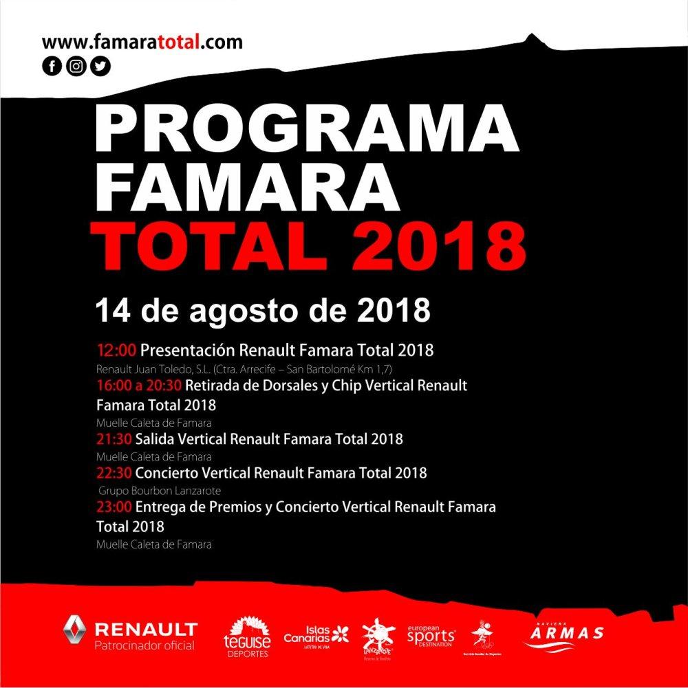 Programa Famara total 2018