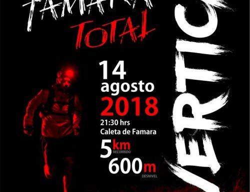 """La 2ª edición de la """"Naviera Armas Vertical Famara Total 2018"""" se celebrará hoy martes con casi 100 participantes"""