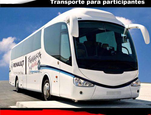 SERVICIO DE GUAGUAS PARA PARTICIPANTES Renault Famara Total 2018